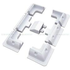 Full Set ABS Solar Panel Corner Mounting Bracket Cable Entry Gland for Yacht RV