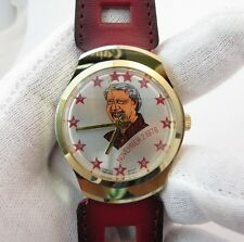 "JIMMY CARTER,""Election Day"" 11/2/76,Manual Wind,RARE! MEN'S CHARACTER WATCH,203"