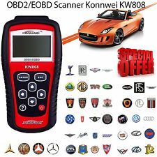 KW808 Car Engine Fault Code Reader Diagnostic Reset Tool OBD2 BUS EOBD KONNWEI