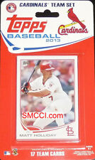 2013 Topps St Louis Cardinals Factory Sealed Team Set Freese Holliday Beltran