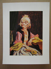 """Disney Haunted Mansion Changing Portrait Painting [ 8.5"""" x 11"""" ]  Poster [ 4 ]"""
