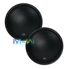 "(2) MTX 3512-02 12"" 35-Series SINGLE 2-OHM CAR AUDIO STEREO SUBS SUBWOOFERS PAIR"