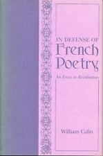 In Defense of French Poetry: An Essay in Revaluation-ExLibrary