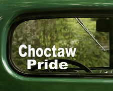 Choctaw Sticker Decal (2) Native American for  Cars, Trucks, Laptops