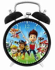 "PAW Patrol Alarm Desk Clock 3.75"" Room Decor E45 Nice for Gifts wake up"