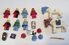 LEGO Minifigure Knight Horse Castle Kingdoms Weapons Armor 18 Lot