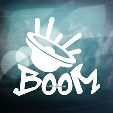 BOOM Speaker Car,Bumper,Window JDM DUB PUG VAG EURO Vinyl Decal Sticker