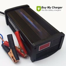 12V/24V Volt 20A Voltage Switchable Intelligent Lead Acid Battery Charger AGM