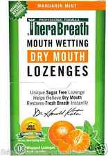 NEW THERABREATH MOUTH WETTING FRESH BREATH LOZENGES DENTAL GUM ORAL CARE KOSHER