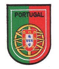 Parche bandera Portugal emblema escudo de armas PATCH bordado termoadhesivo