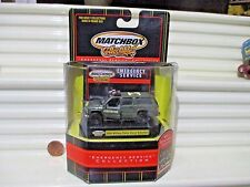 Matchbox Collectibles Emergency Service 2000 Military Police Chevy Suburban MB