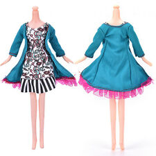 "Fashion Beautiful Handmade Party Clothes Dress for 9"" Barbie Doll Nice Cute"