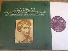 SAL 3651 Schubert Der Musensohn and other songs / Souzay / Baldwin P/S