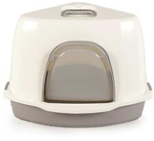 Space Saver Litter Box Corner Pet Cat Kitty Feline Bathroom Door Love Animal New