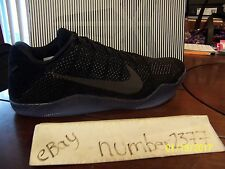 New Nike Kobe 11 XI Elite Triple Black size 11.5
