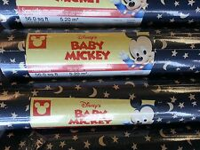 Disneys Baby Mickey Wallpaper Stars Moons #41261200 (4 Double Roll)