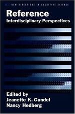 New Directions in Cognitive Science: Reference : Interdisciplinary...