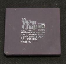 Vintage CPU Processor - IDT WinChip C6 180 - TESTED