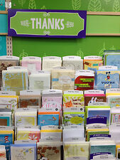 CLOSEOUT THANK YOU THINKING OF YOU GREETING CARDS  Lot of 20  Hallmark w/Envelop