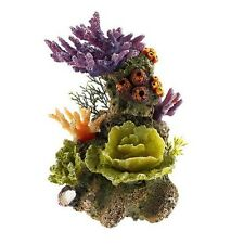 Medium Coral Tower Colourful Aquarium Decoration Fish Tank Ornament