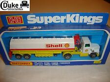 MATCHBOX SUPERKINGS K-16 petroliera (shells) - eccellente nella scatola originale