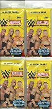 (4) 2016 Topps WWE HERITAGE Wrestling Trading Cards New 16ct. Fat Pack LOT