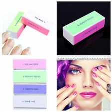 Professionnel Outil Bloc Polissage Mat Tampon Lime Manucure Nail Art Ongle Mode