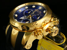 NEW Invicta Men Reserve 52mm Venom 18K Gold Plated Swiss Chrono S.S Strap Watch