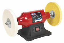 BB2002 Sealey Bench Mounting Buffer/Polisher 200mm 550W/230V [Polishers]