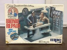 MPC Bionic Woman Bionic Repair Jamie Summers Oscar Goldman Model Kit Sealed