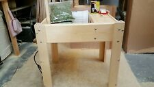 tortoise table and starter kit  24 x 18 x 6  on legs and FREE POSTAGE