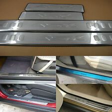 Free shipping Stainless Door Sill Plate Scuff Trim Brand NEW Fit ASX (2010)