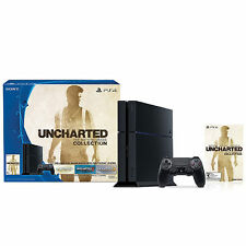 NEW PlayStation 4 500GB Uncharted PS4 Nathan Drake Collection Console Mfg Sealed