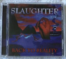 SLAUGHTER - Back To Reality (CD 1999 CMC International Record, Made in U.S.A.)