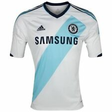 Official Adidas Chelsea Away Short Sleeve Shirt 2012/13 Junior 11-12 Years 152cm
