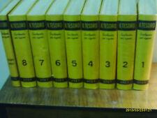 """9 VOLUMI ENCICLOPEDIA PER RAGAZZI """" IL TESORO """" ED. UTET 1965 (LEGGI INSERZIONE)"""