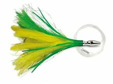 "Williamson Lures Flash Feather Rigged 04 Yellow Green 4"" Lure FFR04-YG"