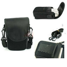 New Black Mesh Universal Digital Camera Pouch Style Case Bag Sleeve Protector