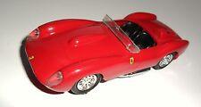 Ferrari 250 TR Testarossa (1957) in rot rouge rosso red, PROGETTO-K in 1:43!