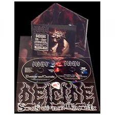 """Deicide """"Scars Von Die Crucifix"""" CD/DVD Digipak Licht Kleidung,Fehlende"""