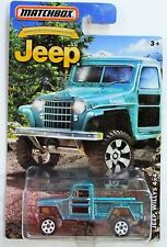 Matchbox 2016 jeep 75th anniversary edition jeep willys 4 x 4 blue / teal