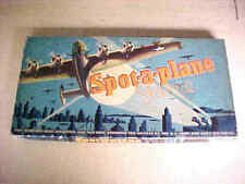 """""""Spot-a-Plane"""" Board Game, 1942, WWII, Military, War."""