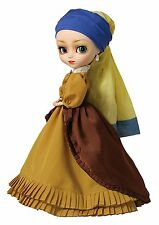 Pullip Girl with The Pearl Earring Fashion Doll by Groove NEW NRFB - loose stand