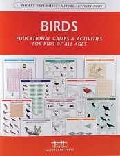 Birds Nature Activity Book: Educational Games & Activities for Kids of All Ages