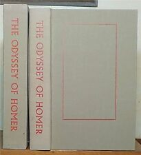 The Odyssey of Homer, with wood engravings by Barry Moser, Limited Editions Club