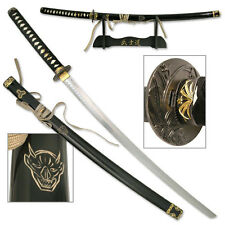 Kill Bills Samurai Ninja Oriental Sword Katana Carbon Steel #320E