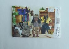 """Vogue Sewing Pattern Linda Carr Ethnic African Doll Clothes Fits 18"""" Doll Uncut"""