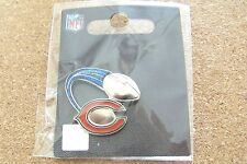 Chicago Bears soaring football ball glitter trail lapel pin NFL