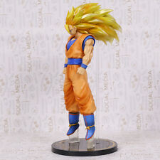 DRAGON BALL Z - FIGURA SON GOKU SUPER SAIYAN 3 / SON GOKOU FIGURE 30cm PVC