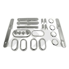 Complete Interior Trim Kit 4 Dr Chrome Jeep Wrangler JK 2007-2010 RT27030
